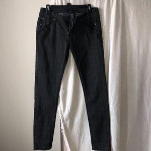 Denim - Dark gray skinny jeans